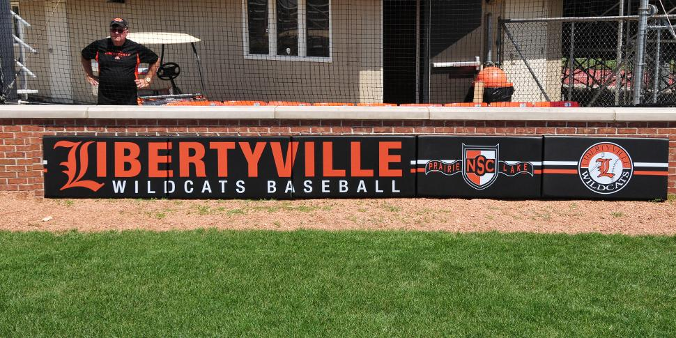 Outfield Wall Padding Bigsigns Com