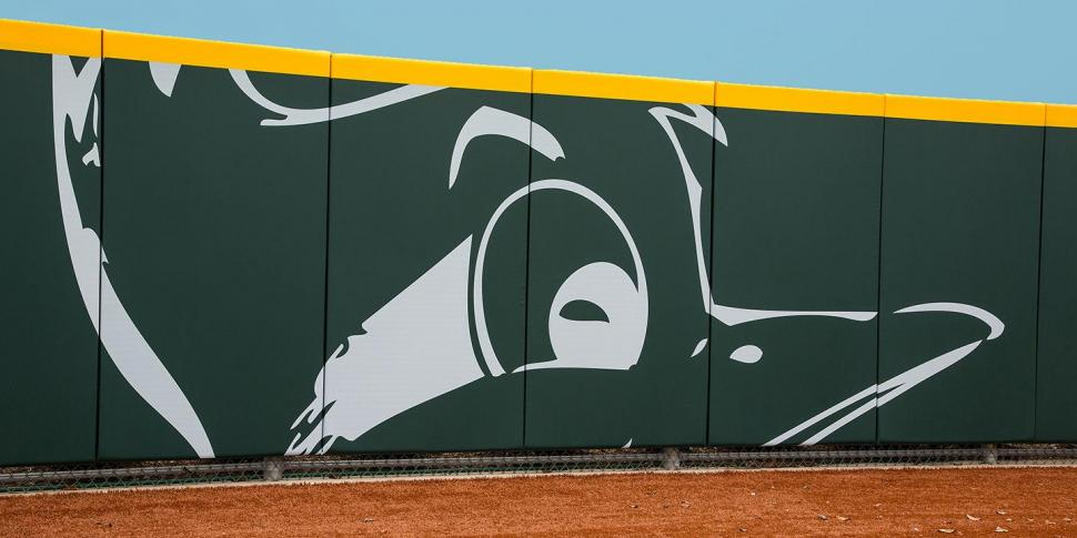Outfield Wall Padding
