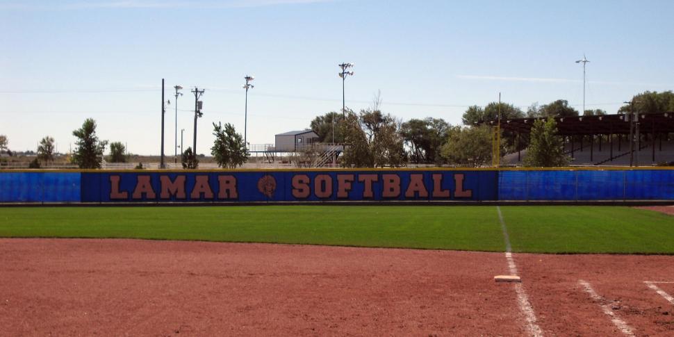 Baseball Dugout Fence Screen : Dura screen windscreen bigsigns