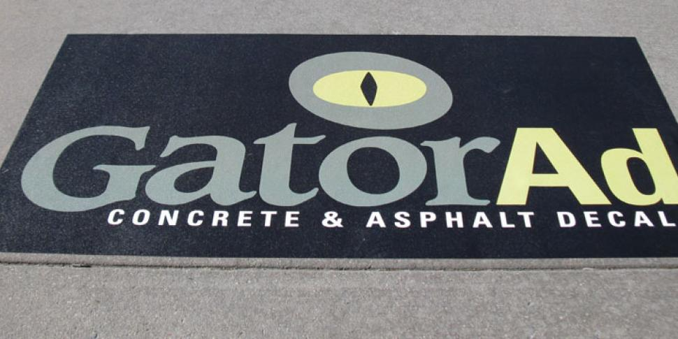 Concrete & Asphalt Decals